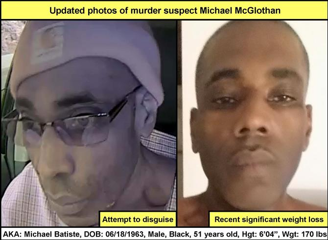 Michael McGlothan updated photos murder suspect