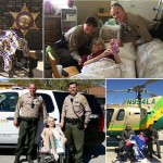 Local cancer patient steals deputies' hearts