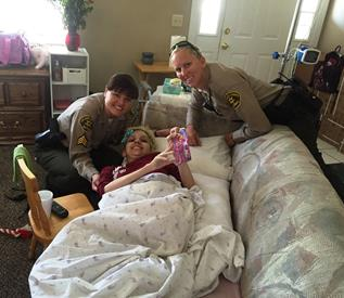 Patricia and deputies Silgero and Day. (LASD)