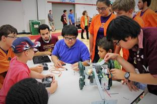 The team's Summer Robotics Workshop coming up June 22­-27. (contributed)