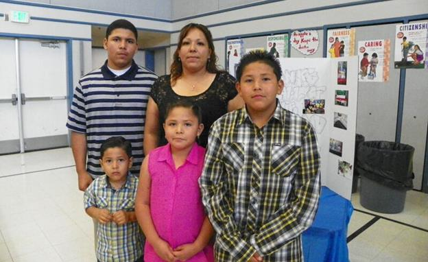 Elizabeth Yanez and her four children left residence on Mother's Day to visit family members. Then Elizabeth received a frantic phone call from her neighbor that her apartment was on fire. Nobody was harmed, but the family lost everything. To donate items to the Yanez family, contact the Eastside Union School District at 661-952-1200. (contributed)