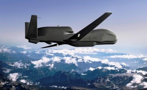 An artist's conceptual rendering of NATO's first Alliance Ground Surveillance (AGS) aircraft depicts the AGS aircraft that was unveilled Thursday in Palmdale. (photo courtesy of Northrop Grumman)