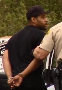 Brandon Wynn is arrested July 18. (LUIS MEZA)
