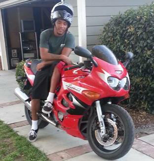 Michael Davis (pictured) was a motorcycle enthusiast, according to his mother.