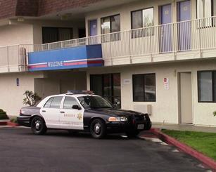 Wynn allegedly kidnapped the toddler from a Motel 6 in Palmdale, detectives said previously. (LUIS MEZA)