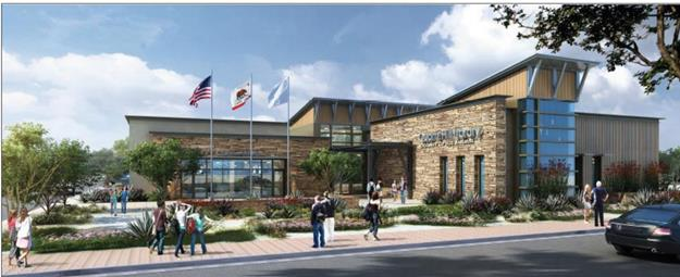 Rendering of the new Quartz Hill Library. (contributed)  The Quartz Hill Library site is located at 5040 West Avenue M2.