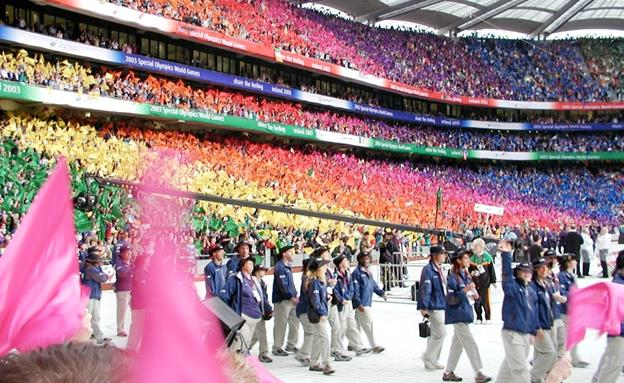 Opening ceremony from a previous Special Olympics World Games. (contributed photo)