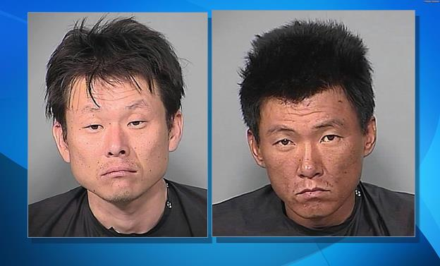 Steve Kwon (left) and Jai Shim (right) were taken into custody June 28, 2008, after Mexican police found them near the border and took them to the Douglas, Ariz., port of entry. (Images from Cochise County Sheriff's Office, via Tucson.com.)