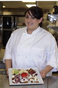 Bon Appétit employee, Tatianna Rodriguez, is assigned to the Walt Disney Company in Burbank. (contributed)
