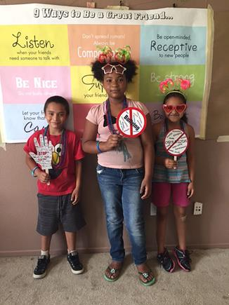 Dozens of kids participated in the first anti-bullying workshop July 25 at the Palmdale's Yucca Neighborhood House.