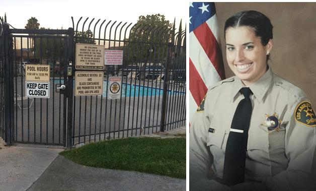 (Images courtesy of the Santa Clarita Valley Sheriff's Station.)