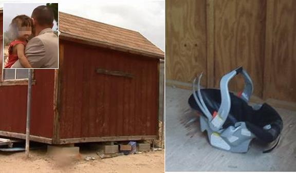 The criminal case was filed after an Amber Alert triggered an extensive search for an 18-month-old girl. The child was found alone in a shed in Palmdale, still strapped into a car seat.