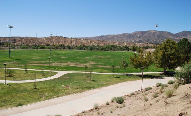 Pelona Vista Park is located at 37800 Tierra Subida Ave. in Palmdale. The renovation project began in April. (contributed)