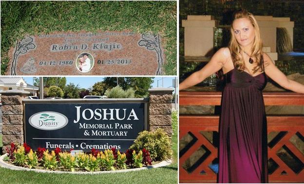 Robin gravesite Joshua Memorial