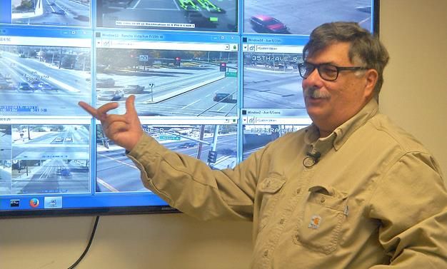 Palmdale's Traffic Signal Manager Anthony Provenza. [contributed]