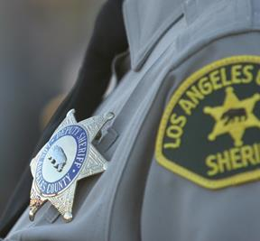 LASD badge and patch small