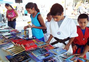 Every child will go home with a free book. [contributed]