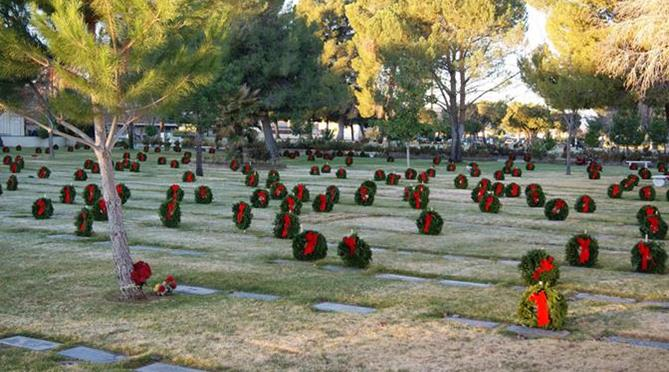 The goal is to provide 800 wreaths to adorn every veteran's grave and every Gold Star mother and father's grave at Lancaster Cemetery in time for the nationwide remembrance ceremony on Saturday, Dec. 12. (Photo courtesy DAYLE DEBRY)