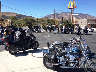 Riders at Ft. Tejon. [contributed]