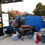 The campers will be fed and entertained for the next 24 hours as they pass the time away, according to Chick-fil-A. (contributed)