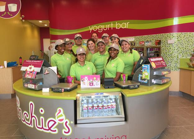 The Menchie's Antelope Valley Mall team. [contributed image]