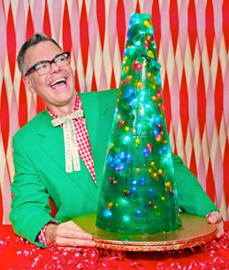 """Charles Phoenix brings his hilarious """"Retro Holiday Show"""" to the Playhouse on Dec. 13. [contributed]"""