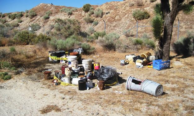 Illegal dumping Palmdale 11.23.15