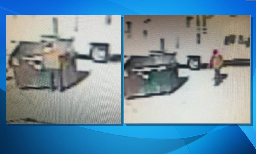Detectives previously released these images from surveillance video of a man setting a fire at a Lancaster dumpster, and they asked for the public's help in catching the arsonist. [LASD]