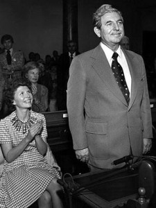 Chimbole at a Sacramento swearing in ceremony as wife Vicki looks on. [contributed]