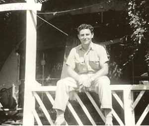 Chimbole on the Pacific Island of Tinian in 1945. [contributed]