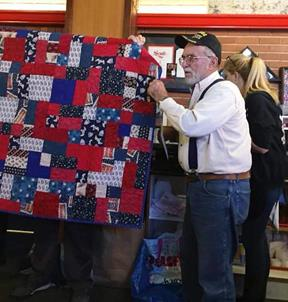 Quilt donation to veterans 3