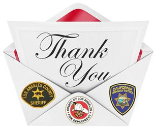 Thank you local law enforcement1