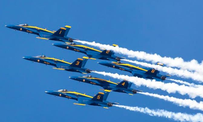 The Blue Angels return to Fox Airfield in Lancaster March 19-20, 2016.