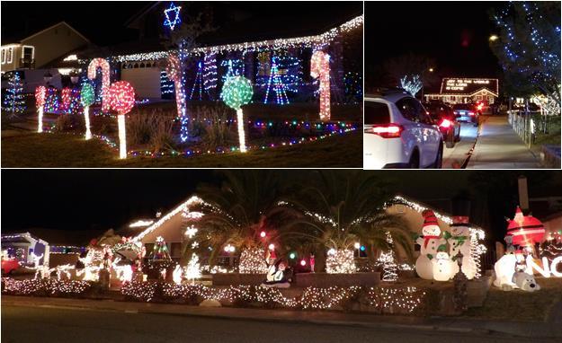 "Candy Cane Lane Christmas Decorations Custom Block Party Tonight On Lancaster's ""Candy Cane Lane"" Decorating Inspiration"