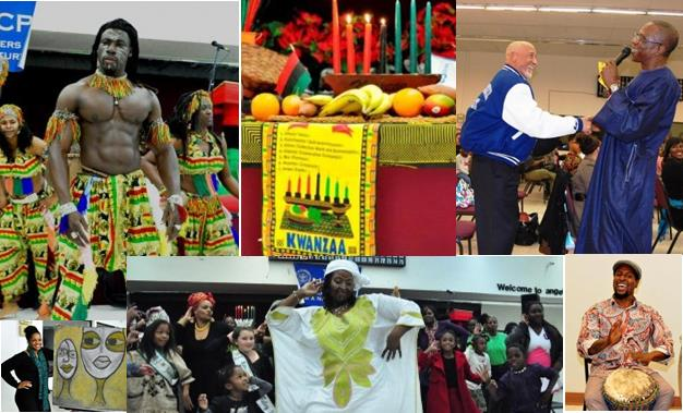 [Sights from past Kwanzaa celebrations in the AV]