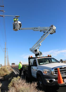 The city of Palmdale replaced almost 500 safety lights with the highly efficient LED lights. [contributed]