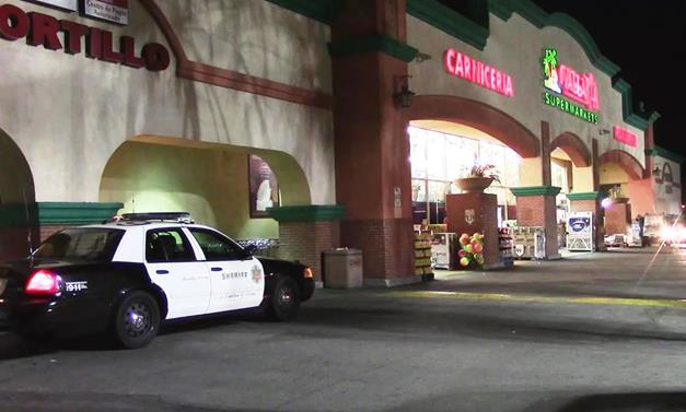 The incident happened around 7:20 p.m. Thursday, Dec. 17, at the Vallarta located at 440 East Palmdale Boulevard. [Photo by LUIS MEZA]