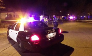 The deputy-involved-shooting took place around 5:45 p.m. Tuesday, Jan. 12, in the 1100 block of Avenue H-14 in Lancaster. [LUIS MEZA]