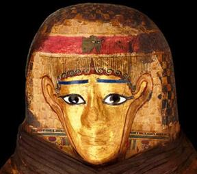 Mummies exhibit