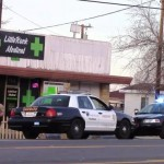 """Supervisor Michael Antonovich said in his motion that growing cannabis """"increases the risk of trespassing and burglary and acts of violence."""" A clerk was shot in the stomach last month when thieves robbed a medical marijuana dispensary in Littlerock. [Photo by LUIS MEZA]"""