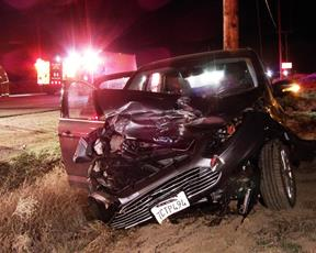 The Cadillac collided with 2013 Ford C-Max driven by Julia Drew Greer of Berkeley, CHP officials said. [JOHN MEZA]