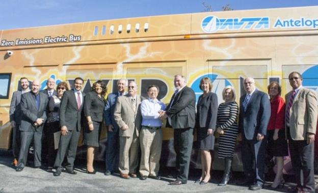 The announcement was made during a special event that followed the Feb. 11 meeting at the AVTA facility and was attended by elected officials, dignitaries and community leaders. [Photo courtesy AVTA]