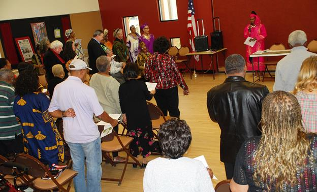[Contributed image from the inaugural Black History Month celebration at Legacy Commons]