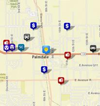 Palmdale crime rate graphic
