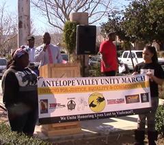 Unity March Palmdale Feb. 11 2