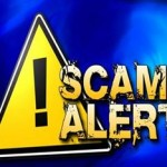 PWD warning residents about utility impostor