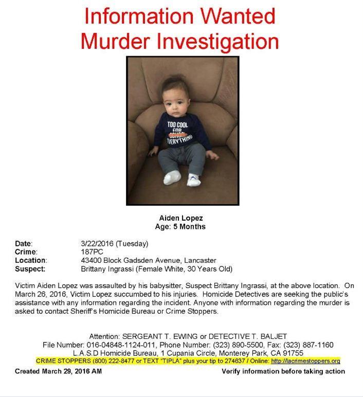 Aiden Lopez murder investigation