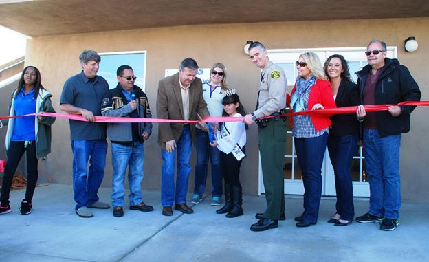 Grand opening for Hammack Neighborhood House. [contributed]