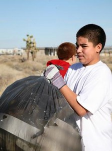 clean up Palmdale season of service