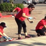 Cleanup at Marie Kerr Park
